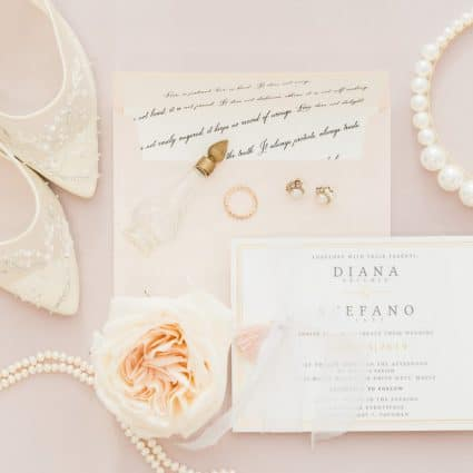 Elena's Little Shoppe featured in Styled Shoot: Blushing Spring Bride