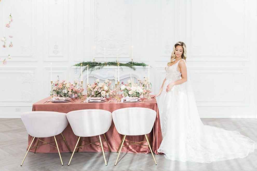 styled shoot blushing spring bride, 11