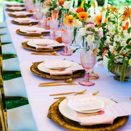 Table Tales featured in A Summery Chic-Inspired Styled Birthday Shoot