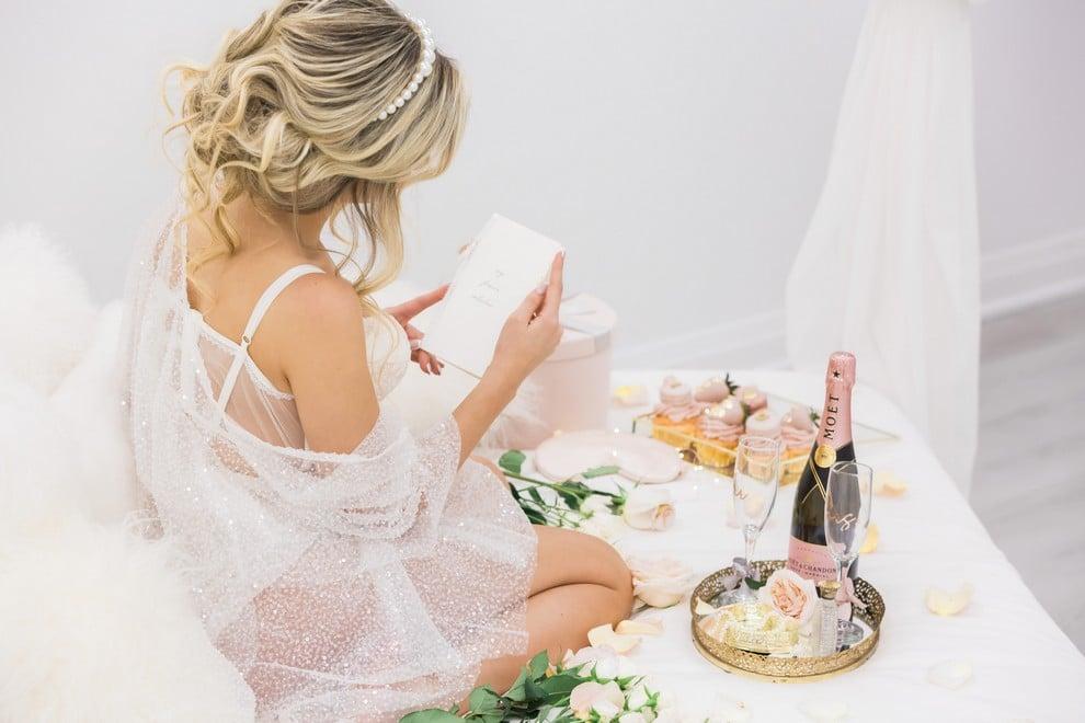 styled shoot blushing spring bride, 22