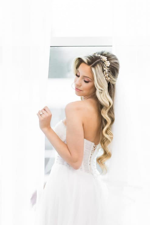 styled shoot blushing spring bride, 16