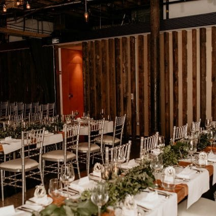 The Distillery District - Loft featured in Pam and Marco's Cozy Wedding at The Loft in The Distillery Di…