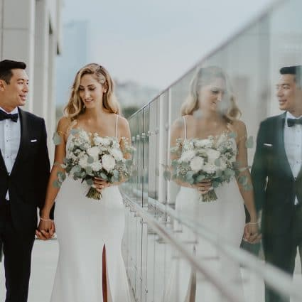 Thumbnail for Corrin and Albert's Rooftop Wedding at Hotel X