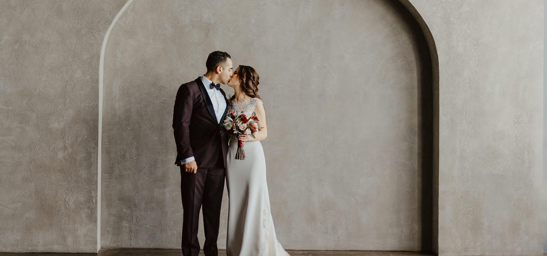 Hero image for Loredana and Sal's Gorgeous Wedding at Archeo