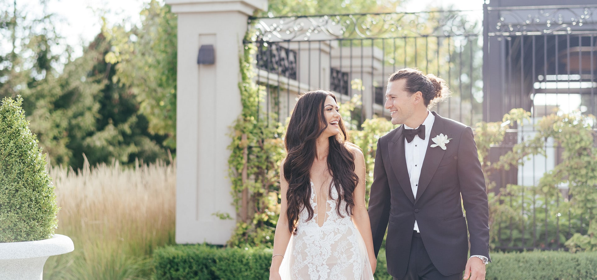 Hero image for Jessica and Anthony's Luxurious Wedding at Chateau Le Parc
