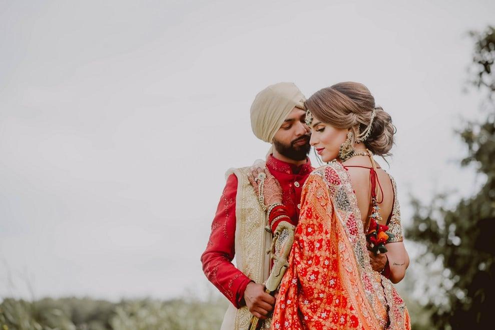 "Harpreet and Tariq Say ""I Do"" with an Intimate Summer Wedding"