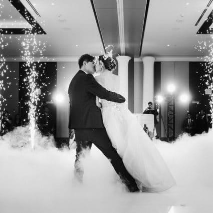 Digital X Entertainment featured in Virginia and Robert's Elegant Wedding at Hotel X