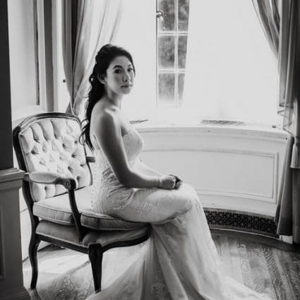Lorraine Makeup Artistry featured in Elaine and Saleem's Enchanting Fairy-Tale Wedding at Casa Lom…