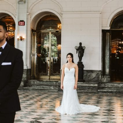 Casa Loma featured in Elaine and Saleem's Enchanting Fairy-Tale Wedding at Casa Lom…