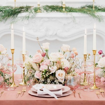 Samantha Ong Photography featured in Styled Shoot: Blushing Spring Bride