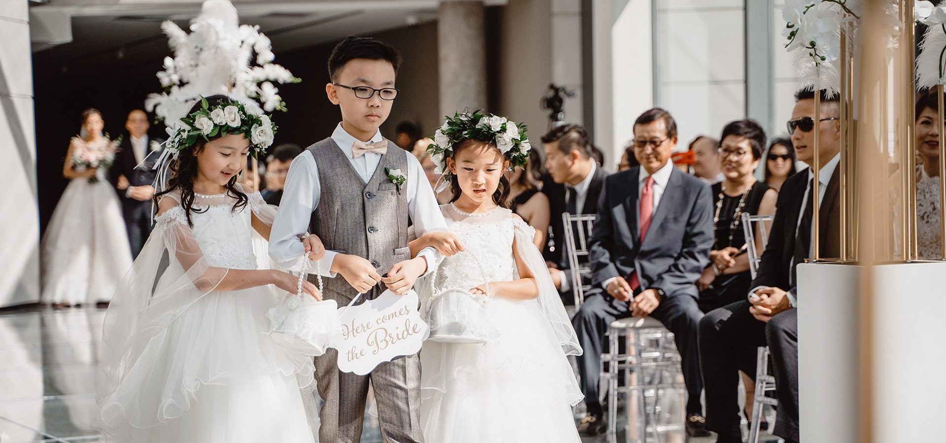 Hero image for 4 Reasons to Have Ring Bearers and Flower Girls at your Wedding & 3 Not To