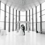 Thumbnail for Maggie and Sunil's Sweet and Simple Wedding at Spencer's at the Waterfront