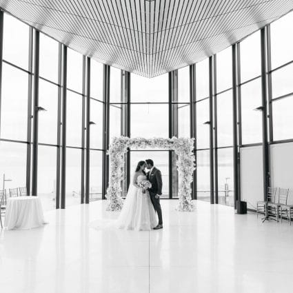 Olive Photography featured in Maggie and Sunil's Sweet and Simple Wedding at Spencer's at t…