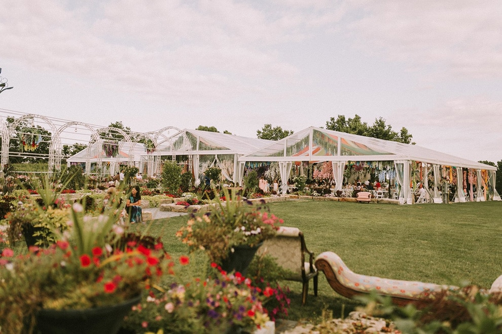 event venues with outdoor tented space, 3