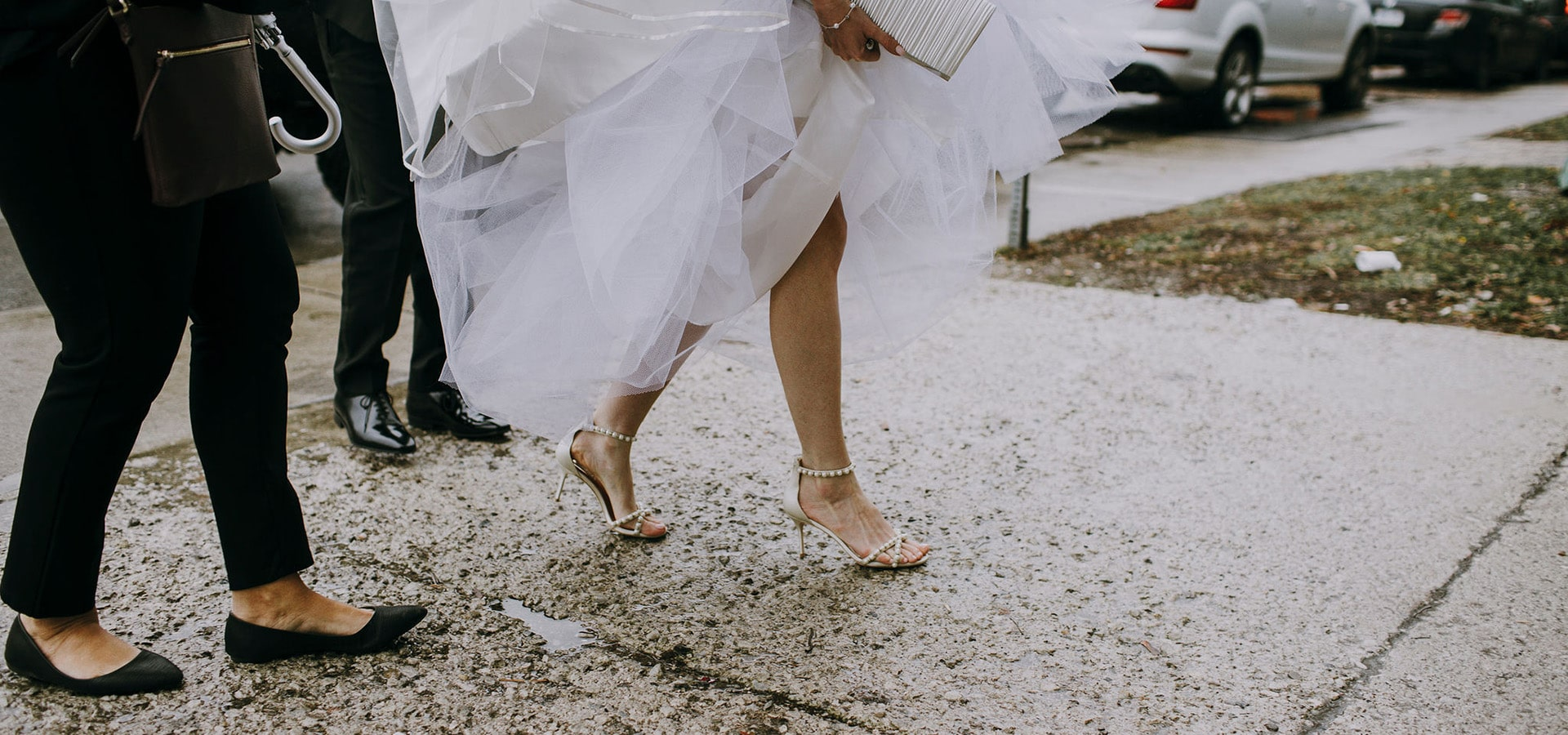 Hero image for 5 Ways to Prepare for Rain on Your Wedding Day