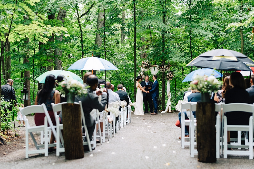 5 ways to prepare for rain on your wedding day, 6