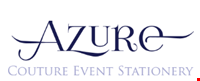 Azure Couture Event Stationery