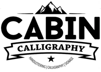 Cabin Calligraphy