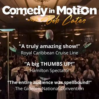 Comedy in Motion with Bob Cates