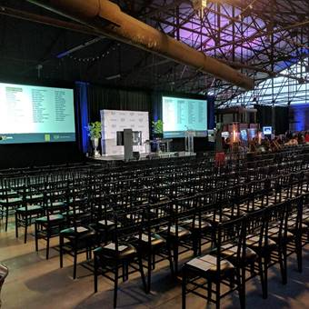 Surrounded by awe-inspiring heritage buildings, Evergreen Brick Works offers a truly unique setting for corporate events