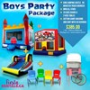 Boys Party Package