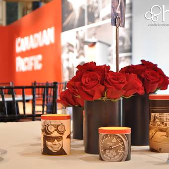 Corporate event decor