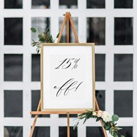15% discount on Wedding Stationery