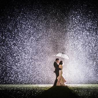 Toronto Wedding Photography in the rain