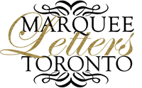 Marquee Letters Toronto
