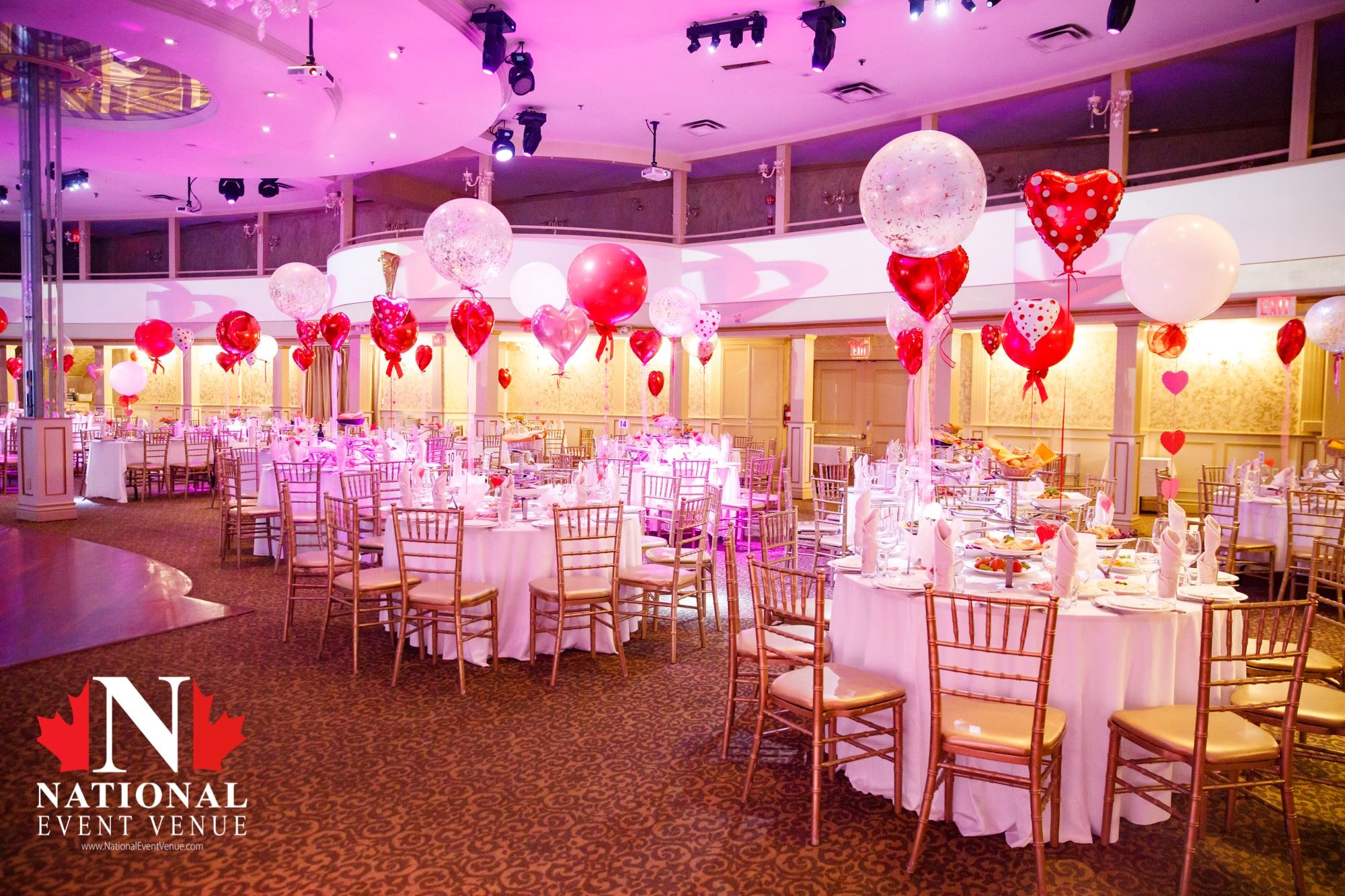 National Event Venue, Toronto, Banquet Halls
