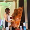 Painting with Real Fire & Pure Copper