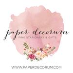 Paper Decorum