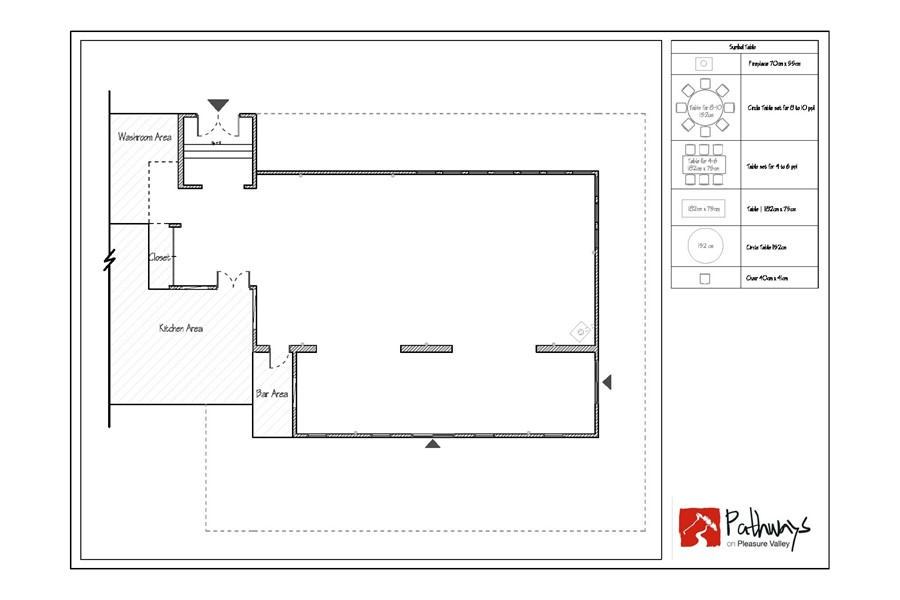 Venue floor plan