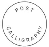 Post Calligraphy