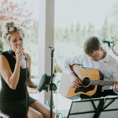 Live 'Cocktail Hour' Music Duo for Weddings, Corporate Events, and Parties