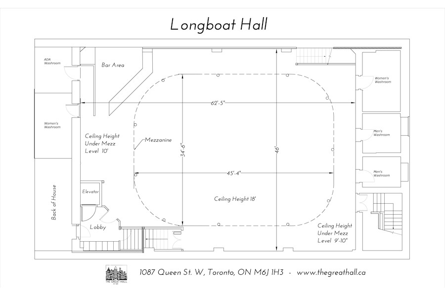 Longboat Hall - Ground Floor