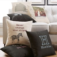 Free personalized pillow cover