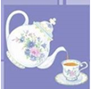 Logo of Vintage Tea Party Rentals