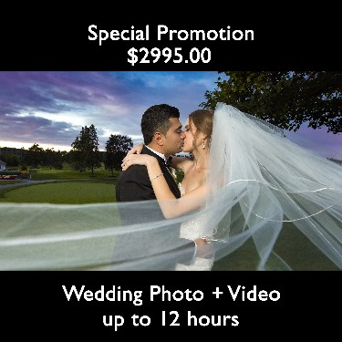 Wedding Photo + Video - up to 12h