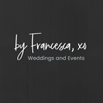 by Francesca, xo Weddings & Events