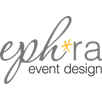 Logo of eph*ra event design